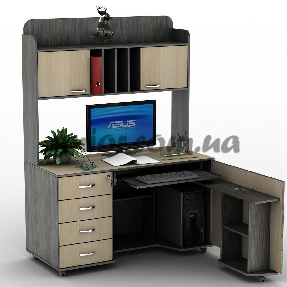 компьютерные столы компьютерные ...: www.unior-mebel.com.ua/kompyuternie-stoli/tisa/su-16.html